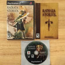 Radiata Stories rare RPG PlayStation 2 PS2 System Complete Game U.S. Version