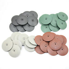 40 PCS MIXED Rubber Polishing Disc Jewelry Rotary Tool Metal Polisher