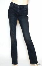 Nwt $148 Juicy Couture Penelope Low Rise Straight Leg Jeans Pants Tale Wash 28