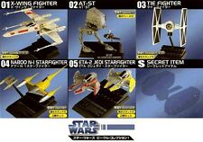 F-Toys Star Wars 1/144 Vehicle Collection Vol Part 1 Full Set of 6 w/secret New