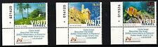 ISRAEL 2011 STAMPS 'VISIT ISRAEL'-JERUSALEM,RED SEA,GALILEE.MNH+LEFT TABS.(Nice)