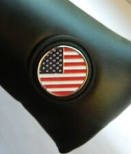 American Flag Magnetic Ball Marker Putter Cover fits Scotty Cameron Ping Blade