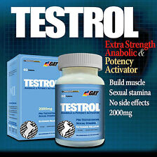 GERMAN AMERICAN TESTROL TESTOSTERONE BOOSTER 60CT WORLDWIDE SHIPPING
