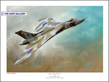 Avro Vulcan  XH-558 Aircraft Aeroplane Signed Ltd (250) Edition Print Picture