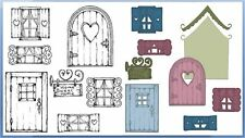 Heartfelt Creations Stamp & Die Combo WILDWOOD COTTAGE ~ HCPC-3771, HCD1-7127