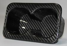 Mitsubishi Lancer Evolution / Evo X Rear Seat Cup Holder - 100% Carbon Fiber