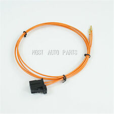 MOST Optic Fiber Cable  Male Connector & Copper Part  for Audi Porsche BMW 100cm