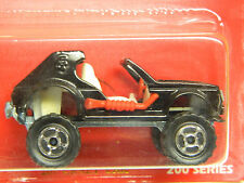 Vintage MAJORETTE # 267 CRAZY CAR  MONMC Black 1/55 NICE Dune Buggy Beach Car *