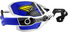 Cycra Ultra Probend CRM Wrap Around Handguards White/Blue for 1 1/8 Handlebars