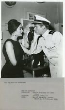 SHARON HUGUENY DEAN JONES PORTRAIT ENSIGN O'TOOLE ORIGINAL 1963 NBC TV PHOTO