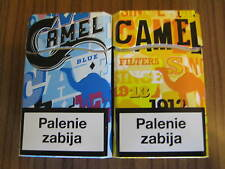 Camel two NEW Camel DESIGN Packs Art Edition from Poland  2016 LEER / empty !!!
