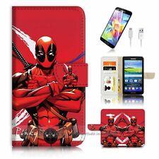 Samsung Galaxy Grand Prime Flip Wallet Case Cover! P1598 Bio Warrior