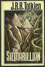 THE SILMARILLION Tolkien 1st USA PRINTING HCDJ w/HUGE PULL-OUT MAP