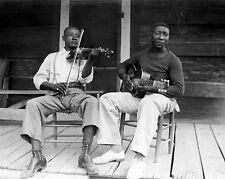 "Muddy Waters & Henry ""Son"" Sims - 8x10 B&W Photo"