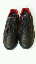 GUCCI Men's Fashion Black and Red Low Top Sneakers Shoes Size 10