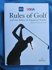 R&A and USGA...RULES OF GOLF - Effective January 2016.