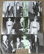 VINTAGE BRIGITTE NIELSEN LOT OF 9 PRESS KIT 7X9 PHOTO PHOTOGRAPH #1