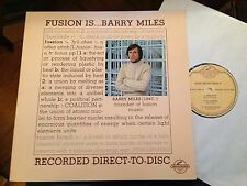 LP Barry Miles *Fusion is...* AUDIOPHILE DIRECT TO DISC CENTURY NM