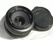 VIVITAR 55mm F 2.8 lens, PENTAX M42 screw mount.  SN96201789