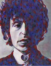 TANGLED UP IN BLUE Bob Dylan limited edition print signed artwork 8.5x11 #40/100