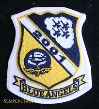 2001 US NAVY BLUE ANGELS PATCH 55TH HOME BASE NAS PENSACOLA MARINES F18 C130