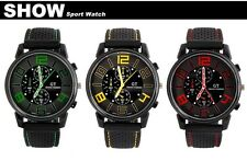 grand touring green men watch