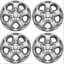 "Brand New Set of 4 17"" Aftermarket Hubcaps for 2010 2011 2012 Ford Fusion"