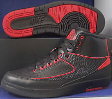 Nike Air Jordan 2 II Retro Alternate 87 Black Varsity Red SZ 11 ( 834274-001 )