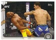 2015 Topps UFC Chronicles #275 Weidman vs Silva