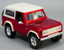 1/24 DieCast Car 1973 FORD BRONCO Model TRUCK Red