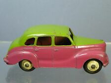"VINTAGE DINKY MODEL  No.152 AUSTIN DEVON SALOON   ""TWO TONE""   CERISE  / GREEN"