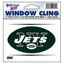 "New York Jets 3""x3"" Car Decal [NEW] NY NFL Static Cling Auto Emblem Sticker"
