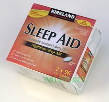 KIRKLAND Signature Nighttime SLEEP AID, Doxylamine Succinate  25mg, 192 Tablets