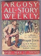 Pulp ARGOSY ALL-STORY May 17, 1924 - J.U. Giesy, Rufus King, George F. Worts