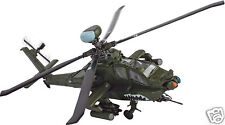 84006 Forces Of Valor Diecast 1:48 US AH-64D Apache Longbow Iraq 2003 Model Heli