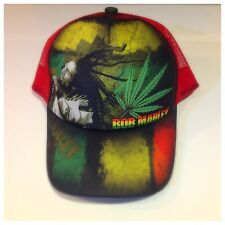 New Bob Marley Reggae Cap, Hats, WEED , Grap One Now!!!