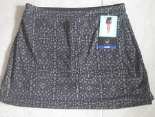 TRANQUILITY COLORADO CLOTHING GOLF TENNIS SKORT SKIRT LARGE DARK DECO NEW DESIGN