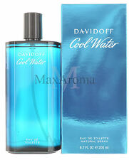 Cool Water by Davidoff Eau De Toilette 6.7 OZ NEW for Men Brand new