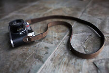 Genuine Real Leather camera shoulder neck strap for EVIL Film camera 01-149