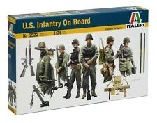 Italeri 1/35 U.S. Infantry on Board # 6522