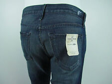 LACOSTE by EARNEST SEWN FULTON STARIGHT Jeans Men SZ 30 IN GARRETT MEDIUM BLUE
