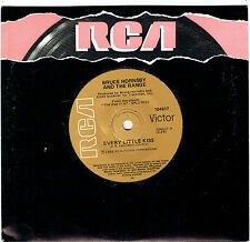 """BRUCE HORNSBY AND THE RANGE - EVERY LITTLE KISS - 7"""" 45 VINYL RECORD - 1986"""
