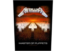 Official Metallica - Master Of Puppets - Back Patch