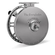 2016 TIBOR EVERGLADES GRAPHITE GREY 7-9 FLY FISHING REEL FREE $100 LINE SHIPPING