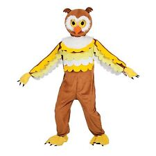 Adult Big Head Owl Bird New Fancy Dress Mascot Costume Sports Animal Nature New