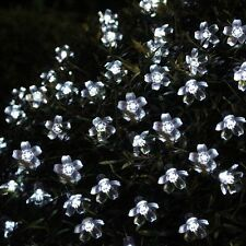 100 LED Cherry Blossom String Lights Christmas Indoor Outdoor White 10m 240v