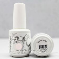 Gelish Harmony Soak Off Gel SIMPLE SHEER 01324 15 mL/.5oz Light Translucent Pink