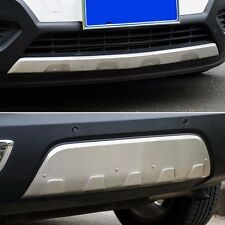 Stainless steel Front & Rear Bumper Protector Plate for Buick Encore Opel Mokka