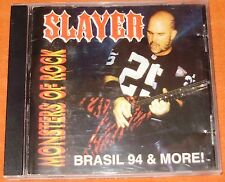 Slayer - Brasil 94 & More / Monsters of Rock ULTRA RARE CD for Collectors !