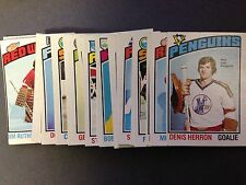 1976-77 O-Peee-Chee Hockey Cards - Complete Your Set - Pick From The List